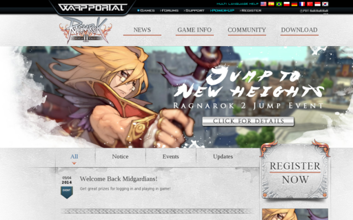 Access playragnarok2.com using Hola Unblocker web proxy