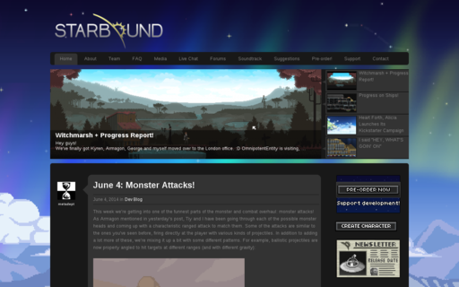 Access playstarbound.com using Hola Unblocker web proxy