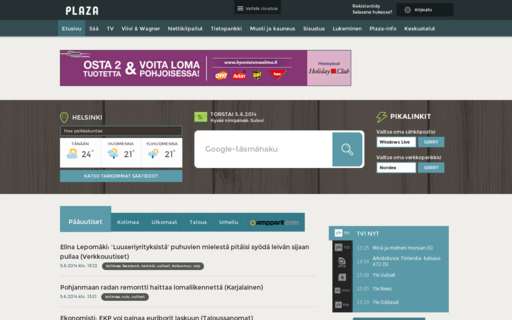 Access plaza.fi using Hola Unblocker web proxy