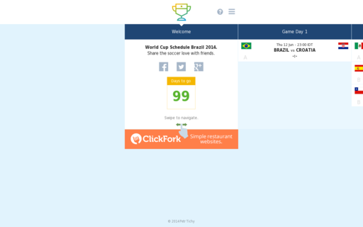 Access pocketworldcupschedule.info using Hola Unblocker web proxy