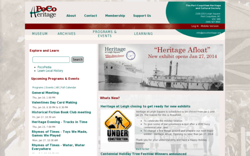 Access pocoheritage.org using Hola Unblocker web proxy