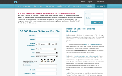 Access pof.com.br using Hola Unblocker web proxy