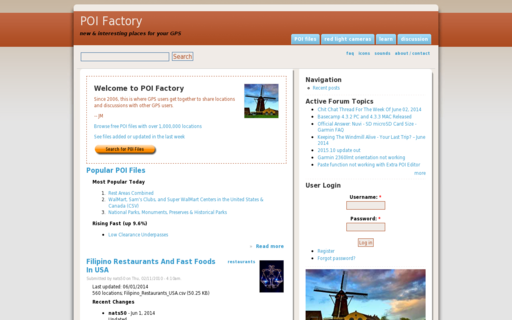 Access poi-factory.com using Hola Unblocker web proxy