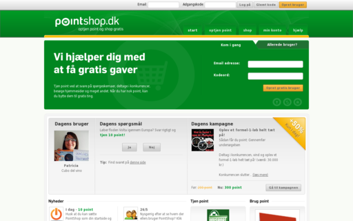 Access pointshop.dk using Hola Unblocker web proxy