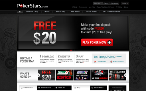 Access pokerstars.com using Hola Unblocker web proxy