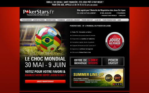 Access pokerstars.fr using Hola Unblocker web proxy