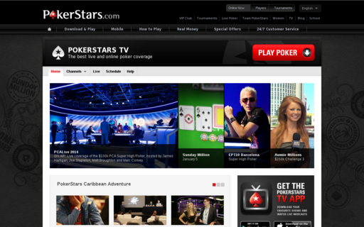 Access pokerstars.tv using Hola Unblocker web proxy