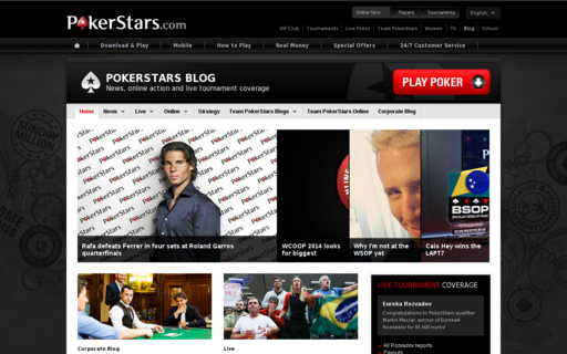 Access pokerstarsblog.com using Hola Unblocker web proxy