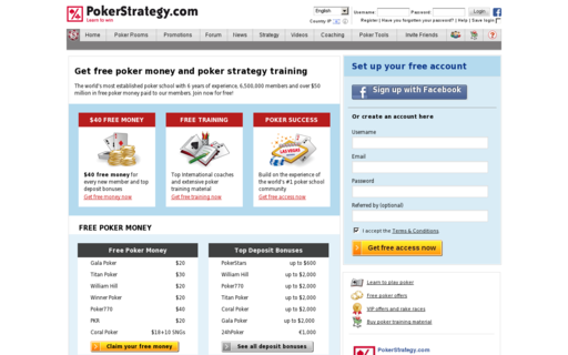 Access pokerstrategy.com using Hola Unblocker web proxy