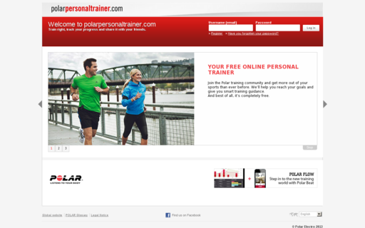 Access polarpersonaltrainer.com using Hola Unblocker web proxy