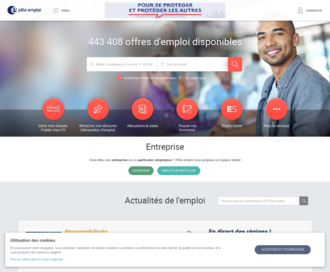 Access pole-emploi.fr using Hola Unblocker web proxy