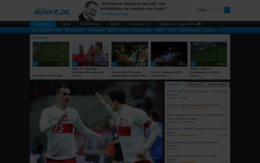Access polsatsport.pl using Hola Unblocker web proxy