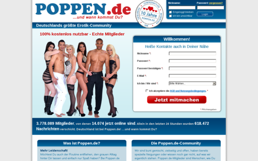 Access poppen.de using Hola Unblocker web proxy