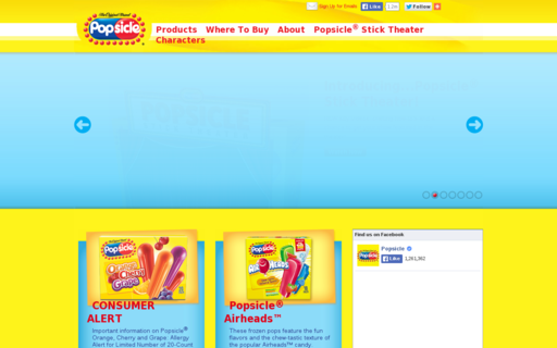 Access popsicle.com using Hola Unblocker web proxy