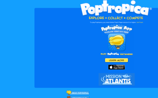 Access poptropica.com using Hola Unblocker web proxy