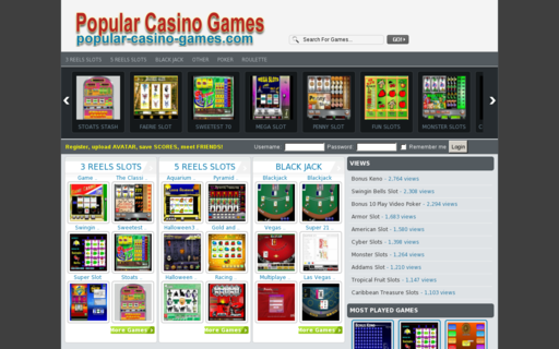 Access popular-casino-games.com using Hola Unblocker web proxy