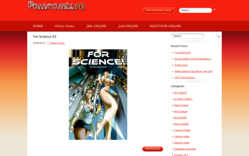 Access porncomix.re using Hola Unblocker web proxy