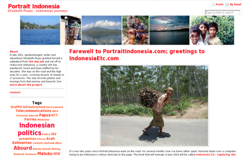 Access portraitindonesia.com using Hola Unblocker web proxy