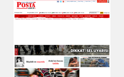 Access posta.com.tr using Hola Unblocker web proxy