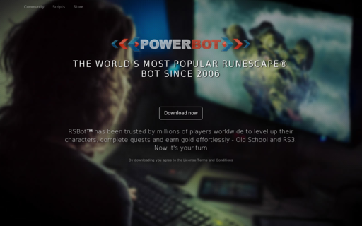 Access powerbot.org using Hola Unblocker web proxy