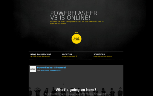 Access powerflasher.com using Hola Unblocker web proxy