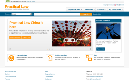 Access practicallaw.com using Hola Unblocker web proxy