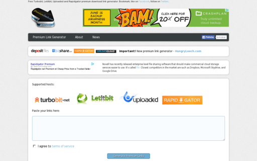Access premiumleech.eu using Hola Unblocker web proxy