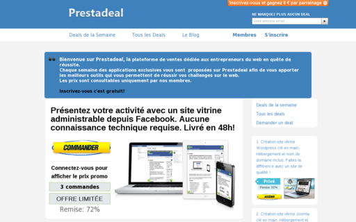 Access prestadeal.com using Hola Unblocker web proxy