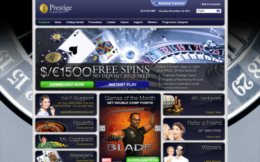 Access prestigecasino.com using Hola Unblocker web proxy