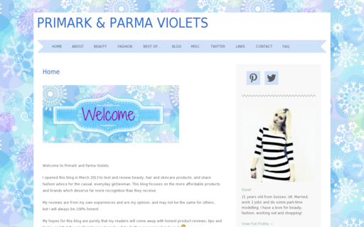 Access primarkandparmaviolets.com using Hola Unblocker web proxy
