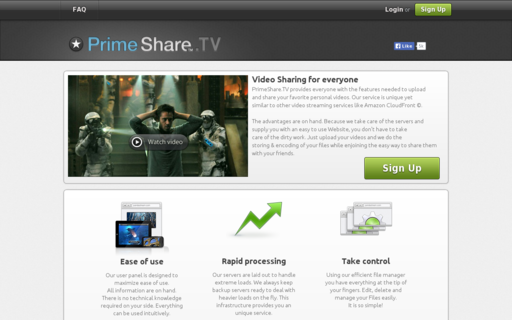 Access primeshare.tv using Hola Unblocker web proxy