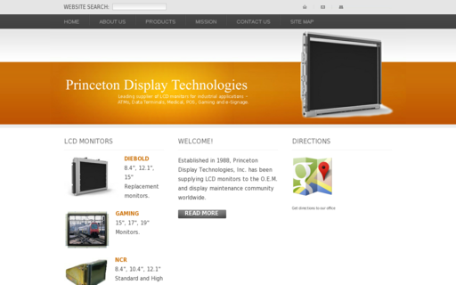 Access princetondisplays.com using Hola Unblocker web proxy