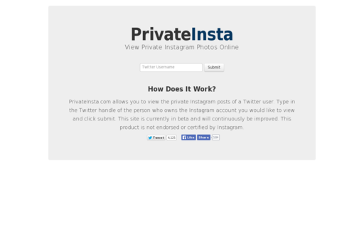 Access privateinsta.com using Hola Unblocker web proxy