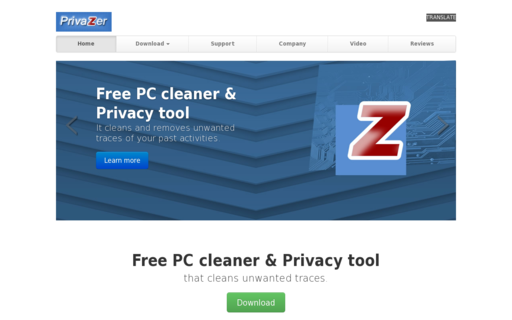 Access privazer.com using Hola Unblocker web proxy