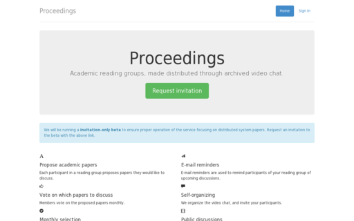 Access proceedings.io using Hola Unblocker web proxy