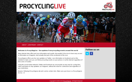 Access procyclinglive.com using Hola Unblocker web proxy