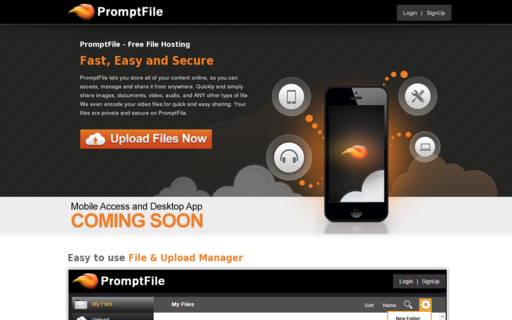 Access promptfile.com using Hola Unblocker web proxy