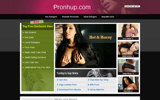 Access pronhup.com using Hola Unblocker web proxy