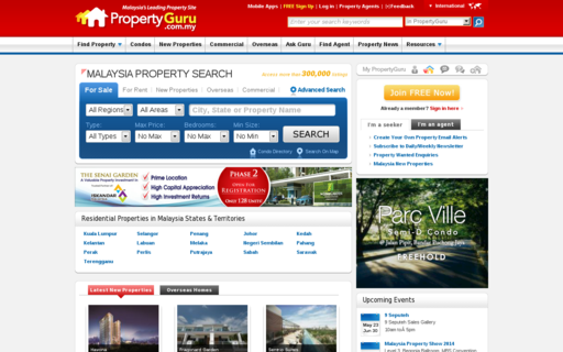 Access propertyguru.com.my using Hola Unblocker web proxy