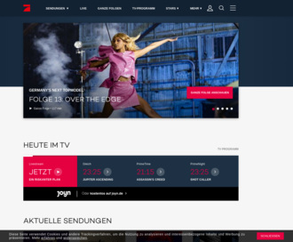 Access prosieben.de using Hola Unblocker web proxy