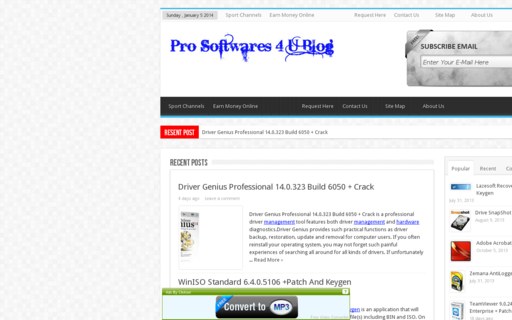 Access prosoftwares4u.com using Hola Unblocker web proxy