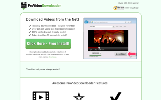 Access provideodownloader.com using Hola Unblocker web proxy