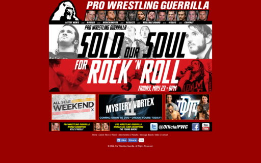 Access prowrestlingguerrilla.com using Hola Unblocker web proxy
