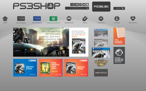 Access ps3shop.com.br using Hola Unblocker web proxy