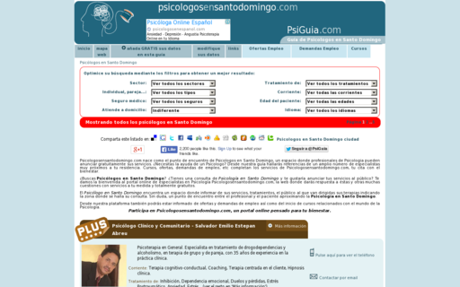 Access psicologosensantodomingo.com using Hola Unblocker web proxy
