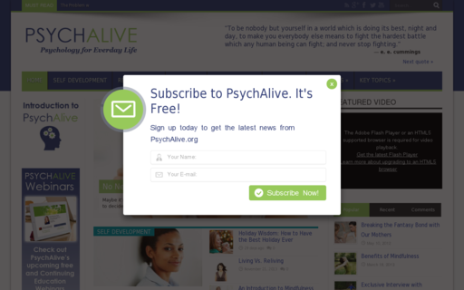 Access psychalive.org using Hola Unblocker web proxy