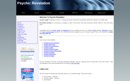 Access psychic-revelation.com using Hola Unblocker web proxy