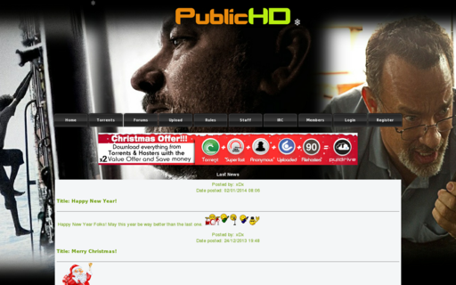 Access publichd.se using Hola Unblocker web proxy