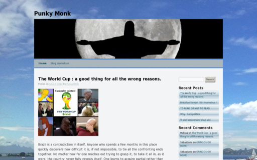 Access punkymonk.com using Hola Unblocker web proxy