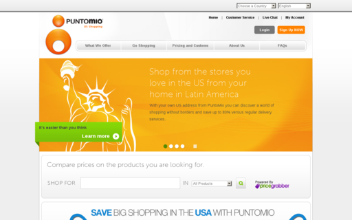 Access puntomio.com using Hola Unblocker web proxy